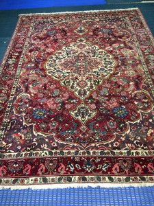 Persian Najafabad Rug. Rug Cleaning from Customer in Camberley - 4 August 2015