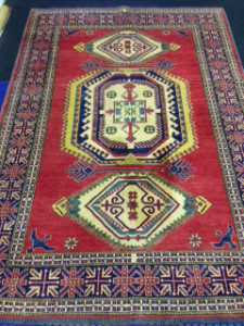 Afghan Kazak Khargai Rug Cleaning from Windlesham