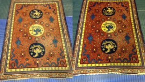 Antique Khotan Rug Cleaning from Ascot