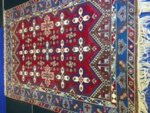 Dosmealti Turkish Rug from Crondall - Cleaned and Repaired