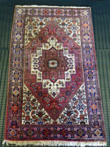 Kurdish Qoltuq Rug Cleaning for Customer in Lightwater