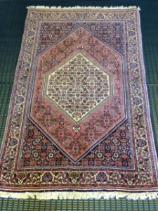 Persian Bidjar Rug Cleaning for Customer in Esher