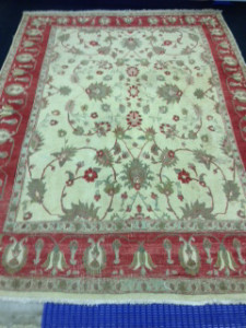 Afghan Ziegler Rug Cleaning from Cobham