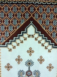 Hand Made Moroccan Rug Cleaning for Customer in Cobham