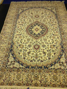 Oriental Rug Cleaning - Beautiful Persian Nain for Customer in Camberley