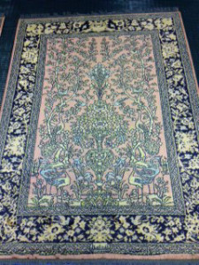 Persian Design Viscose Rug Cleaning from Eversley