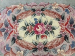 Chinese Rug Medallion - Rug Cleaning for Customer in Elstead, Godalming
