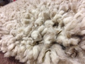 Detail of Shag Pile Rug - Rug Cleaning in Walton-On-Thames