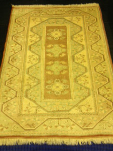 Turkish Melas Rug Cleaning for Customer in Fleet