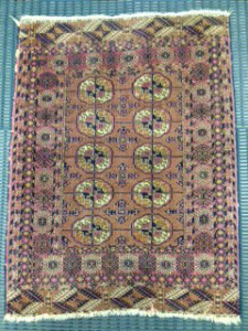 Antique Tekke Carpet - Rug Cleaning in Ascot