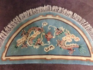 Half Moon Chinese Rug - Rug Cleaning in Cobham