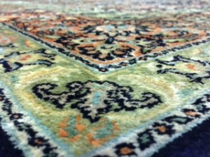 Kashmir Silk Carpet - Rug Cleaning in Winkfield, Windsor