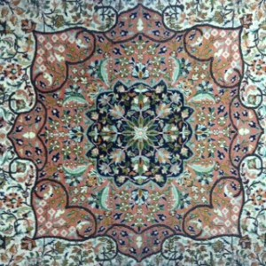 Kashmir Silk Design - Rug Cleaning in Godalming