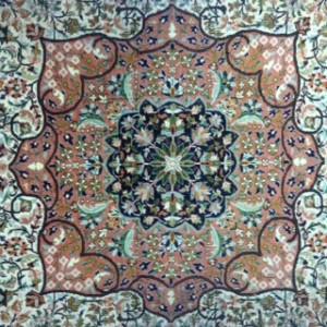 Kashmir Silk Design - Rug Cleaning in Godalming