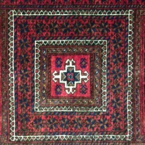 Persian Baluch Rug Detail - Rug Cleaning in Weybridge