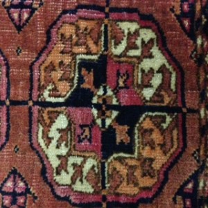 Tekke Tribal Rug Gul Design - Rug Cleaning in Chobham, Woking