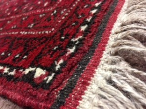 Afghan Rug Fringe - Rug Cleaning in Chobham, Woking