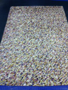 Colourful Modern Contemporary Rug Cleaning for a Customer in Wokingham