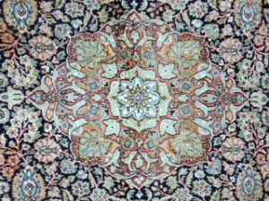 Kashmir Silk Design - Rug Cleaning in Esher