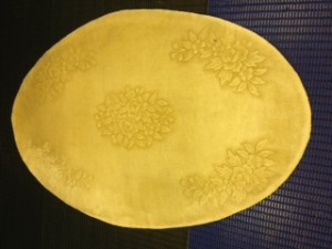 Oval Chinese Rug - Rug Cleaning in Fleet