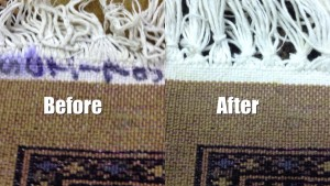 Rug Fringe Repair - Rug Cleaning in Egham