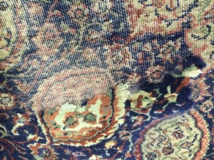 Rug Pile Reweave - Rug Repair Windlesham - 22 February 2016