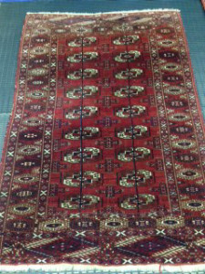 Tekke Tribal Carpet - Rug Cleaning in Virginia Water