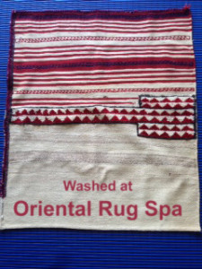 Persian Bakhtiari Grain Bag - Oriental Rug Cleaning Camberley