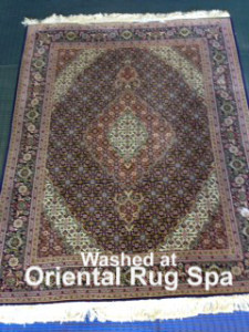 Persian Mahi Tabriz - Rug Cleaning Yateley