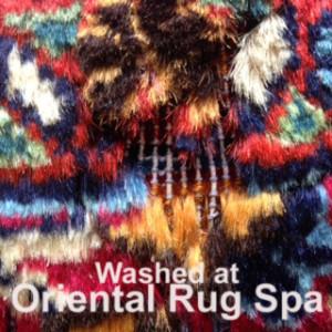 Moth Damage - Persian Mashad - Oriental Rug Cleaning Bagshot
