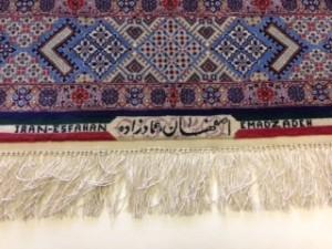 Persian Isfahan Carpet - Rug Cleaning Fleet