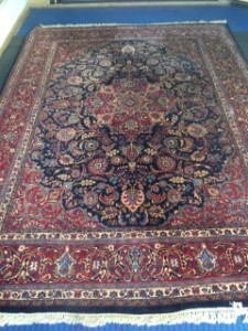 Persian Meshed Carpet - Rug Cleaning Windlesham