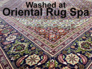 Persian Mahi Tabriz - Rug Cleaning Bracknell