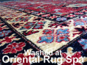 Afghan Kazak Style Carpet - Oriental Rug Cleaning Hook