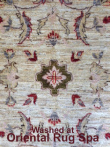 Afghan Ziegler Design - Persian Rug Cleaning Bracknell
