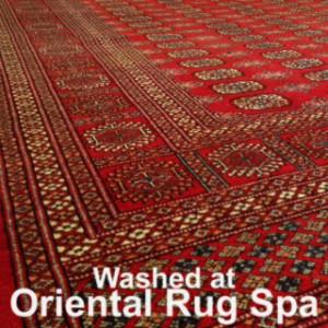 Pakistani Bukhara Rug Cleaning Crondall