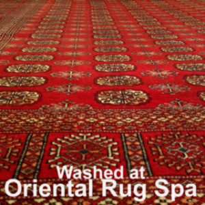 Pakistani Bokhara Rug Cleaning Hook