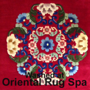 Chinese Floral Design - Rug Cleaning Bracknell