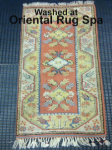 Small Turkish Melas Carpet - Rug Cleaning Bracknell