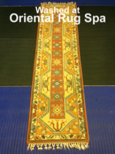 Turkish Melas Runner - Oriental Rug Cleaning Bracknell
