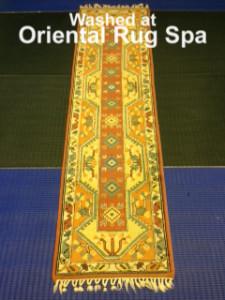 Turkish Melas Runner - Oriental Rug Cleaning Bracknell
