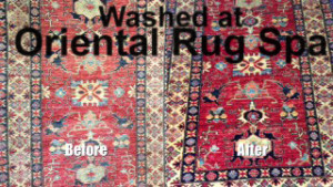 Afghan Kazak Design - Oriental Rug Cleaning Farnborough