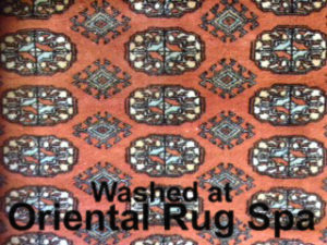 Pakistani Bukhara - Oriental Rug Cleaning Farnborough