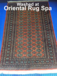 Pakistani Bukhara Specialist Rug Cleaning Virginia Water