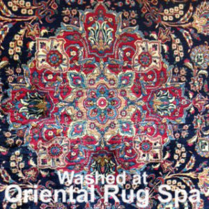 Persian Mashad Medallion - Oriental Rug Cleaning Farnborough