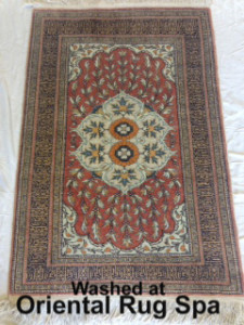 Turkish Kayseri Silk Carpet - Persian Rug Cleaning Farnborough