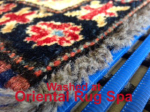 Afghan Kazak Carpet Design - Oriental Rug Cleaning Elstead, Godalming
