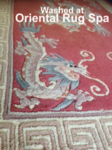 Chinese Dragon Carpet - Oriental Rug Cleaning Bracknell