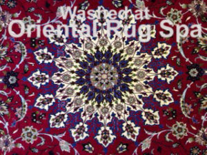Persian Isfahan Carpet Design - Oriental Rug Cleaning Camberley