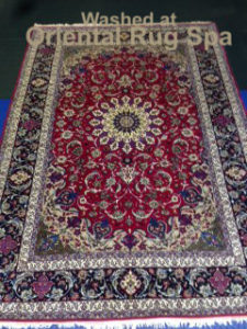Persian Isfahan Carpet - Oriental Rug Cleaning Chobham